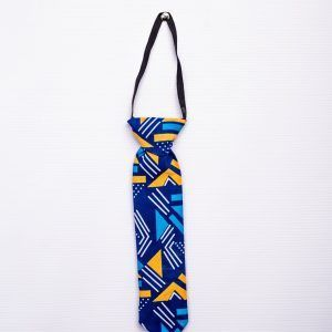 African Print Flying Ties For Boys 10.5 Inches